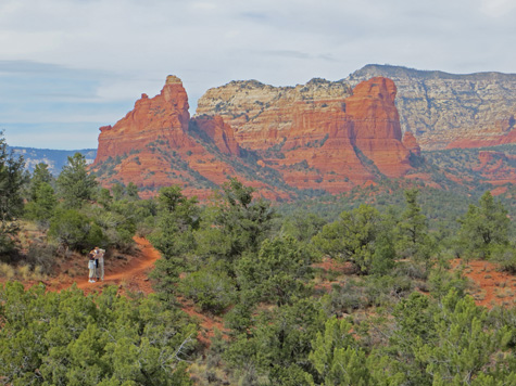 Hiking in the Sedona Valley